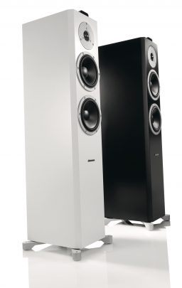 dynaudio xeo6 black white